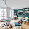 Paris Houzz Tour: Before and After Freshening a Flat with Colour