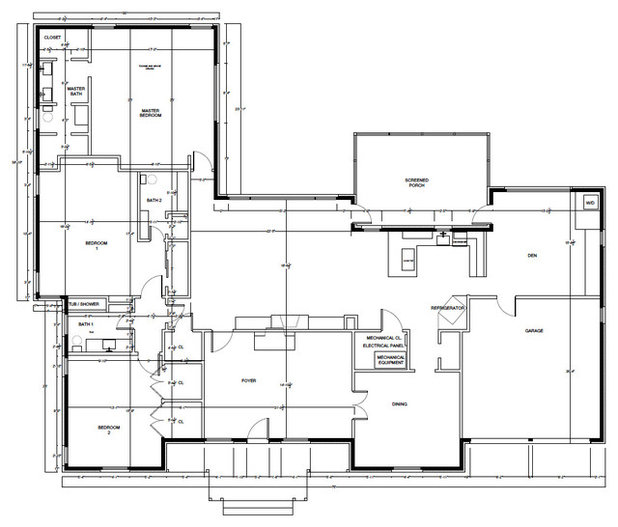 Modern Floor Plan Dallas, TX: Lenore LoCascio