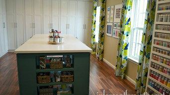 Built-in Studio Cabinets
