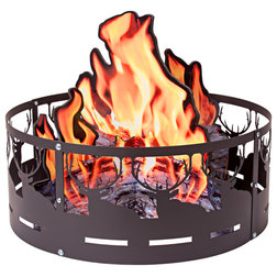 Rustic Fire Pits by Colorado Cylinder Stoves