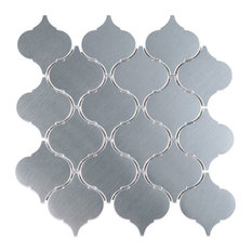 "9.5""x9.75"" Iron Man Arabesque Mosaic Tile Sheet"