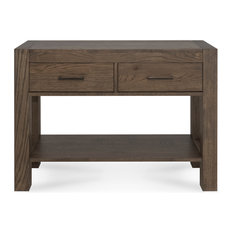 Tyler Dark Oak Console Table With Drawers