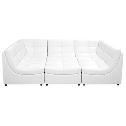 Transitional Sectional Sofas by Furniture Import & Export Inc.