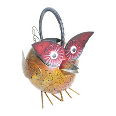 Iron Owl Watering Can