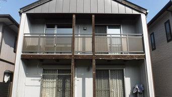 名古屋市 ガルバニウム鋼板外壁・ガルバニウム鋼板塗装 施工例