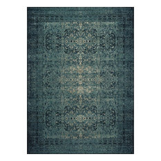 """Loloi Journey Collection Rug, Indigo and Blue, 7'6""""x10'5"""""""