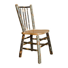 Hickory Stick Back Dining Chairs Set Of 2 Side Chair Without Arms