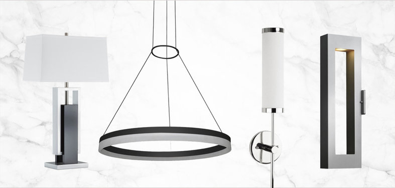 Find the right modern lighting for your indoor and outdoor spaces in this diverse roundup of popular picks