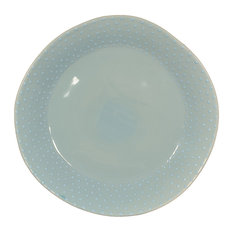 Feba Italia - Turquoise Pearl Organic Ceramic Dinner Plate - Dinner Plates  sc 1 st  Houzz & 50 Most Popular Contemporary Dinner Plates for 2018 | Houzz