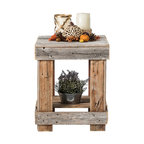 Barnwood End Table, Barnwood