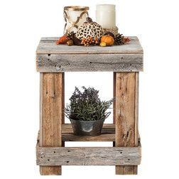 Farmhouse Side Tables And End Tables by Del Hutson Designs