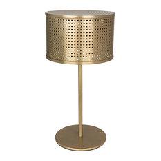 Leila Lamp, Antique Brass