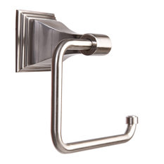 arista bath products arista leonard toilet paper holder satin nickel toilet paper holders