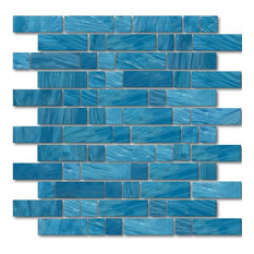"""Ionian, 1""""x1"""" and 1""""x3"""", Glass Tile"""