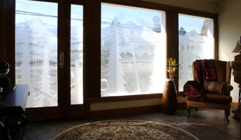 Custom Design Etched Glass Windows
