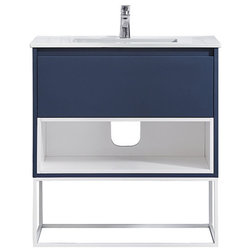 Contemporary Bathroom Vanities And Sink Consoles by OVE Decors