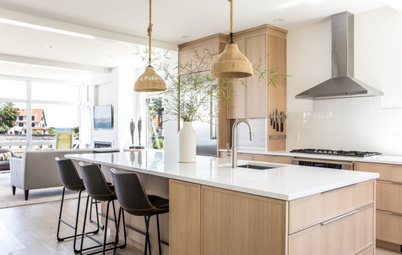 Kitchen Tour: Sophisticated Coastal Style With Natural Materials