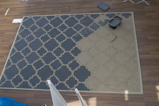 Diy How To Paint A Sisal Rug