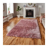 Polar Rose Rectangle Plain/Nearly Plain Rug 80x150cm