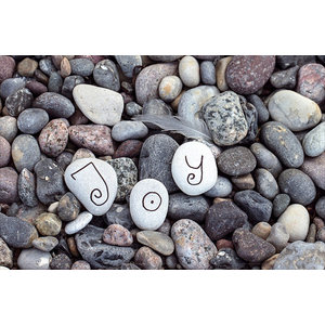 Joy Pebble Gallery Door Mat, Small