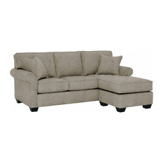 Lafayette Reversible Chaise Sofa, Taupe