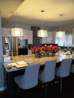 Good Lighting really does make a statement I uve had more ments about my choice of island lighting Love these lights Perfect for our cottage