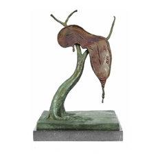 Persistence Of Memory By Salvador Dali Bronze Modern Art Sculpture Statue Figure