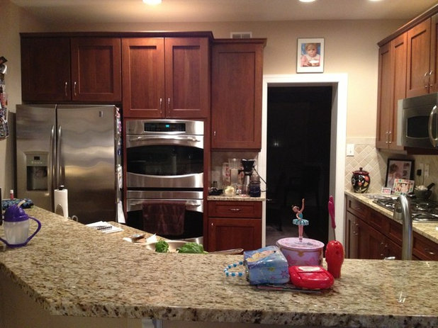 Inside Houzz case study - countertops or kitchen came Houzz source