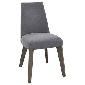 Burma Dining Chair, Slate Blue, Set of 2