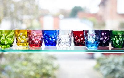 Manufakturbesuch: Bunte Glasjuwelen der Tischkultur