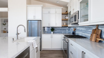 Wall Removal Allows For Open Concept Kitchen Remodel