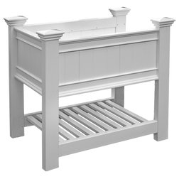 Traditional Outdoor Pots And Planters by Frontera Furniture
