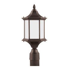 1-Light Ardsley Court Outdoor Post Lantern