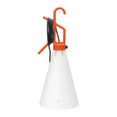 FLOS Official May Day Orange Color Modern Table Lamp by Konstantin Grcic
