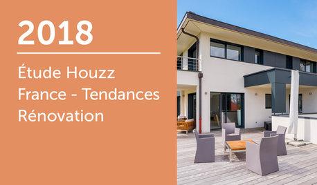 Étude Houzz France : Tendances Rénovation 2018