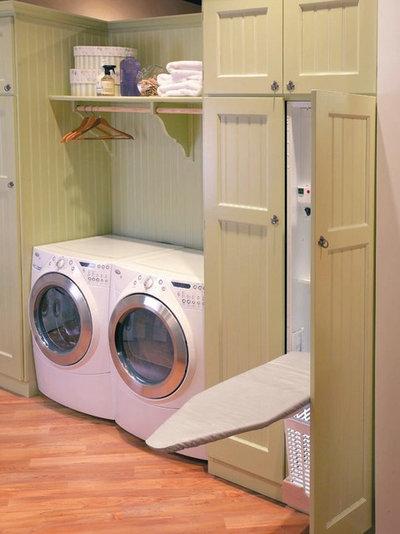 Cómo crear una zona de plancha y lavandería bien aprovechada