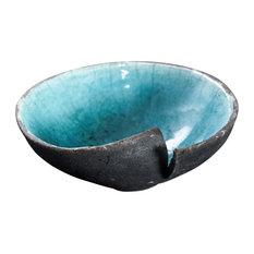 Oriente Raku Ceramic Bowl