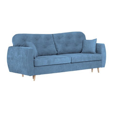 Orchid 3-Seat Sofa Bed, Blue