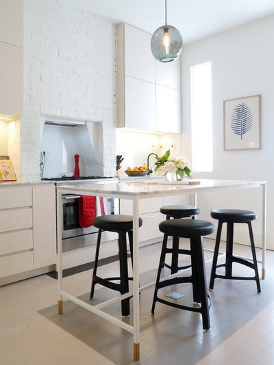 when tall tables trump traditional kitchen islands