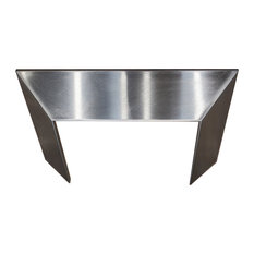 """Z Line Kitchen and Bath - ZLINE Crown Molding Profile 3 for Wall Mount Range Hood, 9.2""""x8"""" - Major Kitchen Appliance Parts and Accessories"""