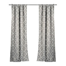 Mediterranean Curtains And Drapes Houzz