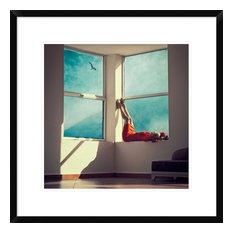 """Room With A View"" Artwork, 22""x22"""