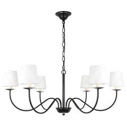 Transitional Chandeliers by Elegant Furniture & Lighting