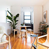 My Houzz: A Cool Inner-City Pad Decorated With Light, Love and Art