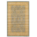 Unique Loom - Unique Loom Aurinia Edinburgh Area Rug, Blue, 5'x8' - The classic look of the Edinburgh Collection is sure to lend a dignified atmosphere to your home. With an array of colors and patterns to choose from, there�s a rug to suit almost any taste in this collection. This Edinburgh rug will tie your home�s decor together with class and amazing style.