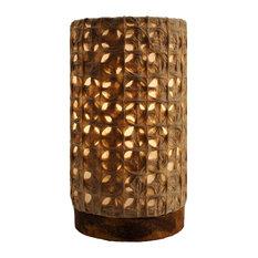 Paper Cylinder Lamp Mini Mesh