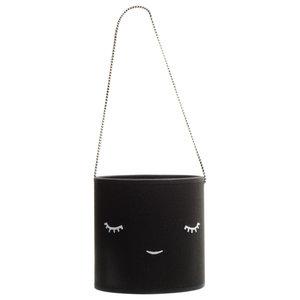 Children's Cotton Creature Lamp, Black