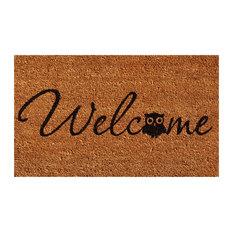 Barn Owl Welcome Doormat 2'x3'