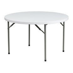 48 in. Round Folding Table