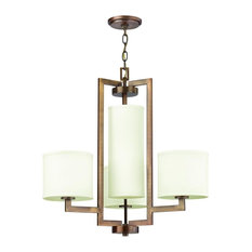 Hinkley Hampton 4-Light Brushed Bronze Up Chandelier